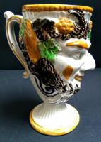 Prattware Satyr Frog Mug c.1800