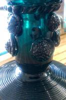 Rhenish Green Hollow Stem Wine Glass c.1795 (3 of 4)