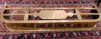 Antique Brass Footman Fender c.1820