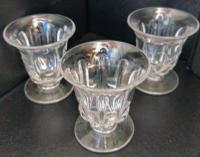 Set of Three High Quality William IV Jelly Glasses c.1830