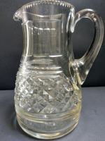 Cut Glass Water Jug c.1860