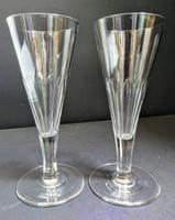 Pair of Georgian Ale Glasses c.1790
