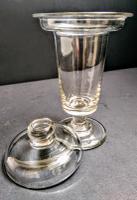 Fabulous Regency Lidded Custard Cup c.1815