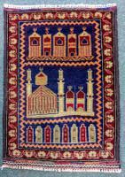 Vintage Baluch Prayer Mat c.1960