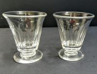 Pair of Dwarf Custard Cups c.1815