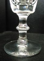 Victorian Facet Cut Liqueur Glass c.1860 (3 of 4)
