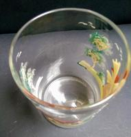 Large Painted Glass Tumbler c.1850 (3 of 5)