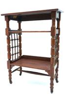 Arts and Crafts Oak Reading Table by Leonard Wyburd For Liberty and Co. (C1900) (2 of 7)