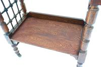 Arts and Crafts Oak Reading Table by Leonard Wyburd For Liberty and Co. (C1900) (3 of 7)