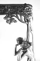 Superb Wmf 'Echo' Toilet Easel Mirror (5 of 6)