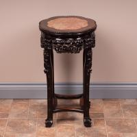 Carved Oriental Stand c.1900