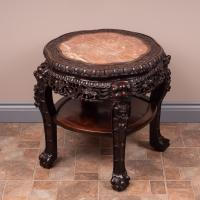 Good Quality Oriental Occasional Table c.1900