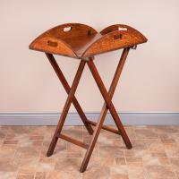 19th Century Oak Butlers Tray & Stand