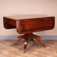 Good Quality Regency Inlaid Mahogany Pembroke Table (3 of 19)