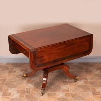 Good Quality Regency Inlaid Mahogany Pembroke Table (4 of 19)