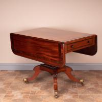 Good Quality Regency Inlaid Mahogany Pembroke Table