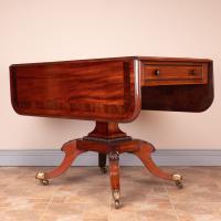 Good Quality Regency Inlaid Mahogany Pembroke Table (6 of 19)