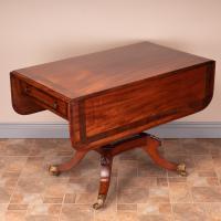 Good Quality Regency Inlaid Mahogany Pembroke Table (8 of 19)