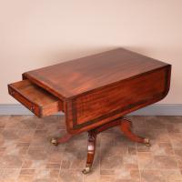 Good Quality Regency Inlaid Mahogany Pembroke Table (10 of 19)