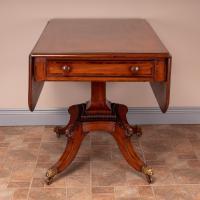 Good Quality Regency Inlaid Mahogany Pembroke Table (11 of 19)