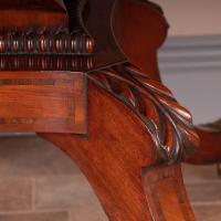 Good Quality Regency Inlaid Mahogany Pembroke Table (12 of 19)