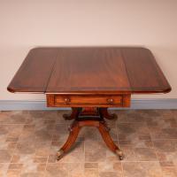 Good Quality Regency Inlaid Mahogany Pembroke Table (14 of 19)