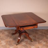 Good Quality Regency Inlaid Mahogany Pembroke Table (15 of 19)