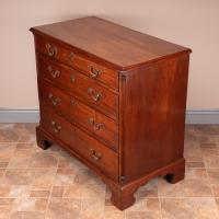 Small 19th Century Mahogany Chest of Drawers (7 of 15)