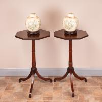 Pair of 19th Century Mahogany Occasional Tables (3 of 13)