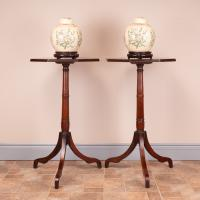 Pair of 19th Century Mahogany Occasional Tables (4 of 13)