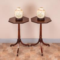 Pair of 19th Century Mahogany Occasional Tables (5 of 13)