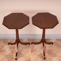 Pair of 19th Century Mahogany Occasional Tables (2 of 13)