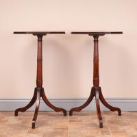 Pair of 19th Century Mahogany Occasional Tables (6 of 13)