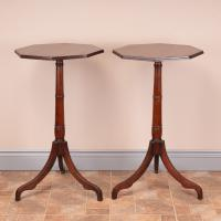Pair of 19th Century Mahogany Occasional Tables (7 of 13)