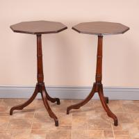 Pair of 19th Century Mahogany Occasional Tables (8 of 13)