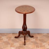 Good Quality Victorian Walnut Chess Table (5 of 13)