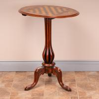 Good Quality Victorian Walnut Chess Table (9 of 13)