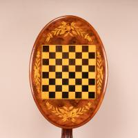 Good Quality Victorian Walnut Chess Table (13 of 13)