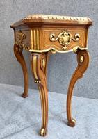 Gilded & Walnut Jardinere C.1850 (7 of 15)