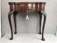 18th Century Dutch Mahogany Tea Table