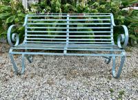 Victorian Wrought Iron Garden Bench (6 of 7)