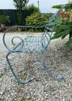 Victorian Wrought Iron Garden Bench (7 of 7)