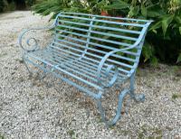 Victorian Wrought Iron Garden Bench (2 of 7)