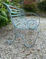 Victorian Wrought Iron Garden Bench (3 of 7)
