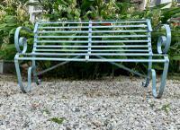 Victorian Wrought Iron Garden Bench (4 of 7)