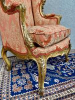 Pair of Louis XVI Gilded Armchairs c.1850 (5 of 17)
