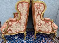 Pair of Louis XVI Gilded Armchairs c.1850 (9 of 17)