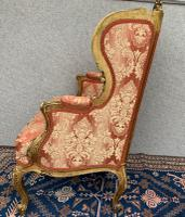 Pair of Louis XVI Gilded Armchairs c.1850 (13 of 17)