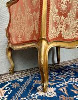 Pair of Louis XVI Gilded Armchairs c.1850 (15 of 17)