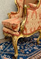 Pair of Louis XVI Gilded Armchairs c.1850 (3 of 17)